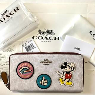 COACH - COACH  コーチ 長財布 ミッキー ディズニー 財布 新品未使用