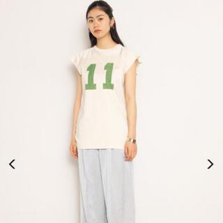 フィーニー(PHEENY)のPHEENY フィーニー 2021SS フットボールTシャツ 新品(Tシャツ(長袖/七分))