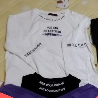 lovetoxic - 女児 150-160 サイズ シャツ ラブトキシック、他 6枚 美品 140あり