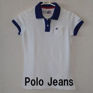 POLO RALPH LAUREN - ★美品!格安!PoloJeans(ポロジーンズ)半そで ポロシャツ 白★