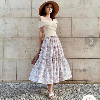 eimy istoire - eimyistoire   Amanda flower ギャザーフリルスカート