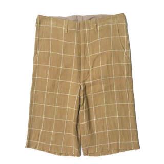 アンユーズド(UNUSED)のUNUSED Windowpane Cut Off Shorts ショーツ 2(ショートパンツ)