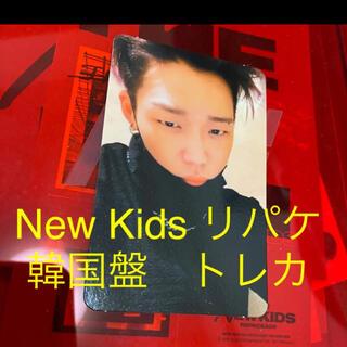 iKON - iKON バビ New Kids repackageリパケ トレカ 韓国盤 赤