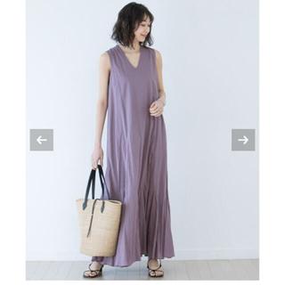 ノーブル(Noble)の専用美品 20SS Noble別注MARIHA/夏の月影のドレス ワンピース(ロングワンピース/マキシワンピース)