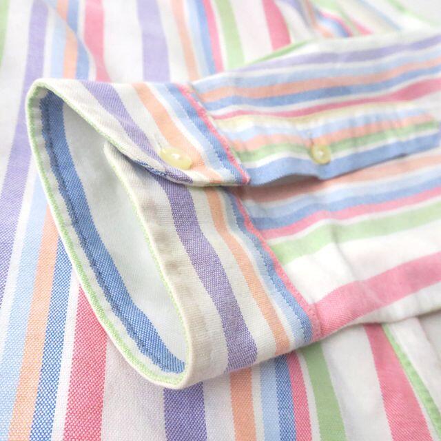 Ralph Lauren(ラルフローレン)のラルフローレン パステルマルチストライプ◎オックスシャツ メンズのトップス(シャツ)の商品写真