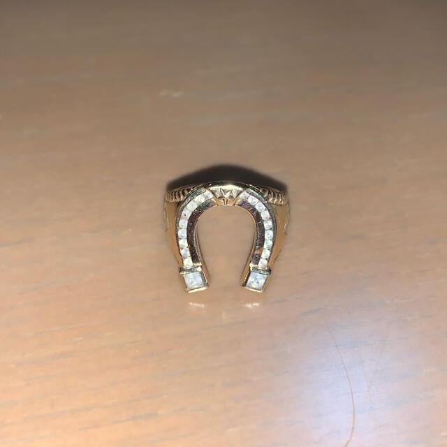 AVALANCHE(アヴァランチ)のAVALANCHEホースシュー YGイエローゴールド メンズのアクセサリー(リング(指輪))の商品写真