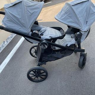 エアバギー(AIRBUGGY)の美品  baby jogger  2人乗り ベビーカーシティセレクト LUX(ベビーカー/バギー)