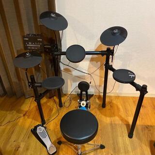 ヤマハ(ヤマハ)の【美品】電子ドラム YAMAHA DTX452KS マット付き(電子ドラム)