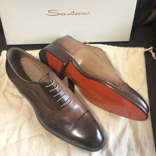 サントーニ(Santoni)の【16万・新品・限定高級ライン】サントーニ santoni 革靴(ドレス/ビジネス)