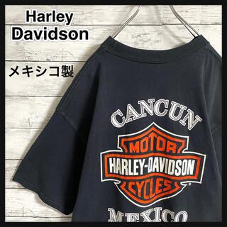 ハーレーダビッドソン(Harley Davidson)の【ビッグサイズ】ハーレーダビッドソン☆バックビッグロゴ 半袖Tシャツ メキシコ製(Tシャツ/カットソー(半袖/袖なし))
