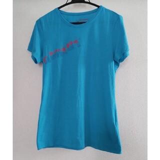 マムート(Mammut)の半袖 Tシャツ マムート MAMMUT アジア M ブルー 水色(登山用品)