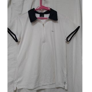 ナイキ(NIKE)のテニスウェア ナイキ L  紺襟(ウェア)