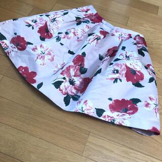 デイシー(deicy)のdeicy フレアスカート フラワースカート 花柄スカート(ミニスカート)