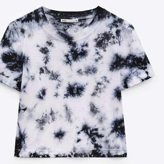 ザラ(ZARA)のZARA タイダイTシャツ L(Tシャツ(半袖/袖なし))