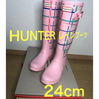 HUNTER - HUNTER レインブーツ 24cm