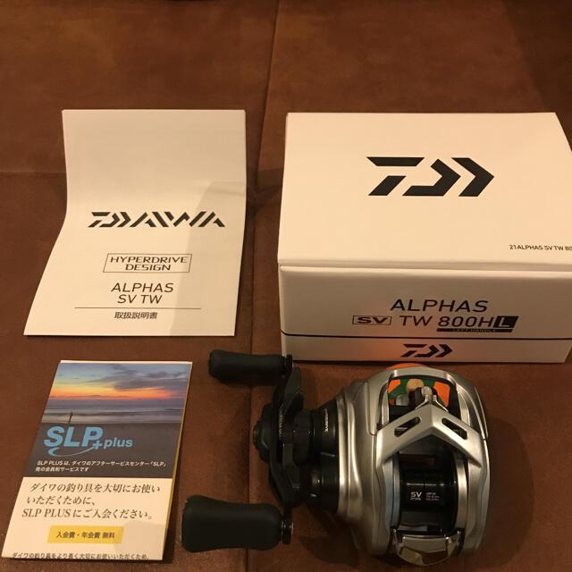 DAIWA(ダイワ)の【新品未使用】21アルファスSVTW 800HL(左巻き) スポーツ/アウトドアのフィッシング(リール)の商品写真