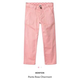 ボンポワン(Bonpoint)のBonton ピンク パンツ 新品 未使用 4A(パンツ/スパッツ)