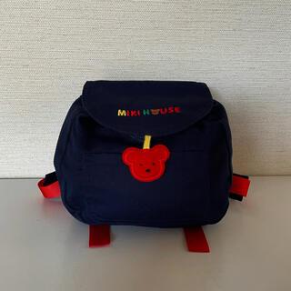 mikihouse - 【新品】ミキハウス☆ベビーリュック・レトロ