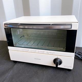極美品!IRIS OHYAMA オーブントースター 2019年製クリームホワイト(調理機器)