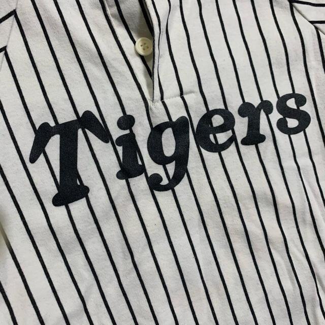 阪神タイガース(ハンシンタイガース)の阪神タイガース セットアップ 帽子 しっぽ 袋付き 100cm スポーツ/アウトドアの野球(応援グッズ)の商品写真