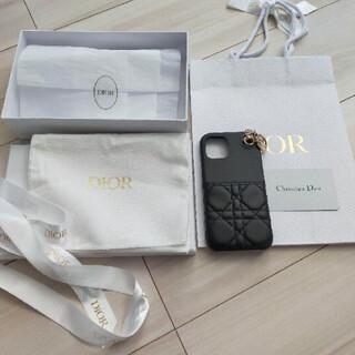 クリスチャンディオール(Christian Dior)の15日削除 レディーディオール ディオール12 ブラック(iPhoneケース)