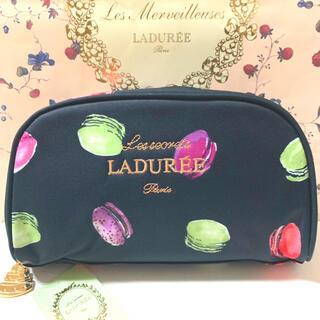 Les Merveilleuses LADUREE - タグ付き マカロンポーチ LADUREE