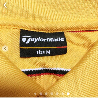テーラーメイド(TaylorMade)の美品 テーラーメード半袖ポロシャツ M(ウエア)