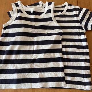 ムジルシリョウヒン(MUJI (無印良品))の無印Tシャツ 120セット(Tシャツ/カットソー)