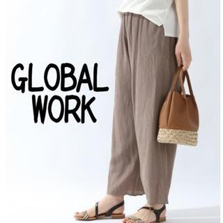 GLOBAL WORK - GLOBAL WORK プリーツパンツ