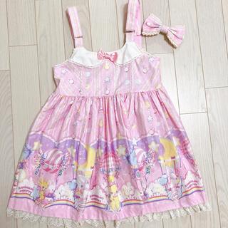 アンジェリックプリティー(Angelic Pretty)のAngelic Pretty Cotton candy shop サロペット (サロペット/オーバーオール)