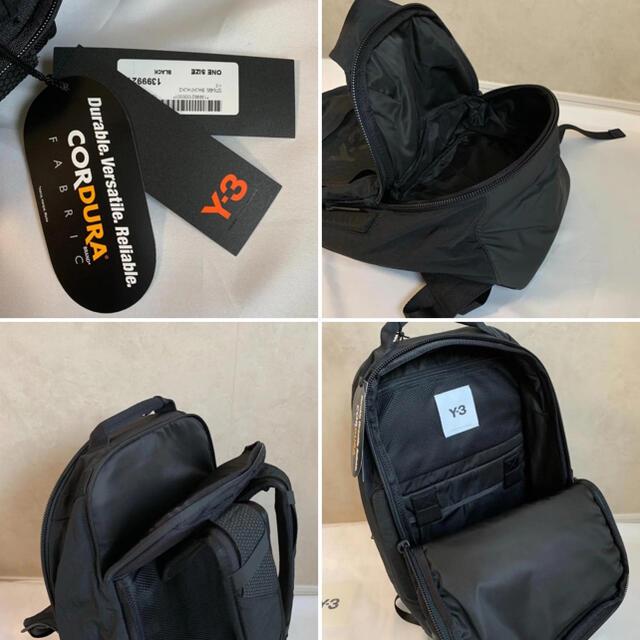 Y-3(ワイスリー)の【新品未使用タグ付き】 Y-3 ワイスリー バックパック メンズのバッグ(バッグパック/リュック)の商品写真