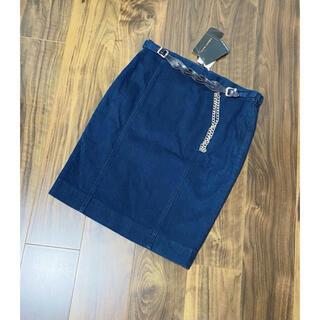 ラルフローレン(Ralph Lauren)のラルフローレン ブラックレーベル 新品 ラルフ デニムスカート タイトスカート(ひざ丈スカート)