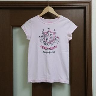 メゾピアノジュニア(mezzo piano junior)のメゾピアノ Tシャツ L 160 半袖 ピンク 女の子(Tシャツ/カットソー)