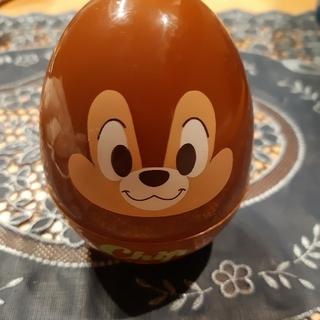 チップアンドデール(チップ&デール)のディズニー:チップとデール(チップ)おやつケース、卵型小物入れ(小物入れ)