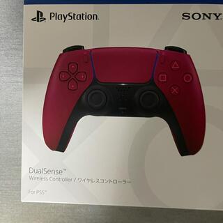 プレイステーション(PlayStation)のDualSense デュアルセンス コズミック レッド(家庭用ゲーム機本体)