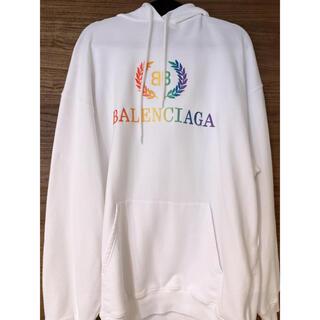 バレンシアガ(Balenciaga)のバレンシアガフーディレインボー(パーカー)