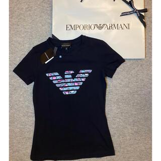 エンポリオアルマーニ(Emporio Armani)のエンポリオアルマーニ Tシャツ黒 Emporio Armani(Tシャツ/カットソー(半袖/袖なし))