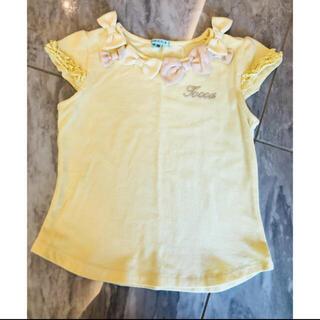トッカ(TOCCA)のトッカ リボン カットソー 110 100(Tシャツ/カットソー)