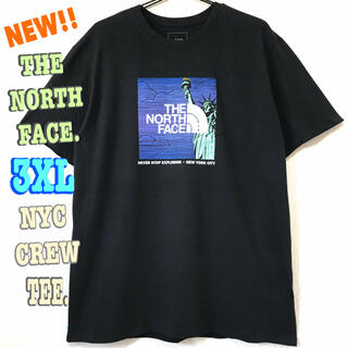 ザノースフェイス(THE NORTH FACE)のちょびんさん専用 ☆ ノースフェイス NYC Tシャツ 黒 3XL 4L(Tシャツ/カットソー(半袖/袖なし))