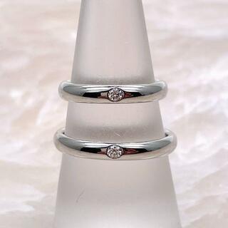 ハリーウィンストン(HARRY WINSTON)の★HARRY WINSTON★ ラウンドマリッジ ペアリング 結婚指輪(リング(指輪))