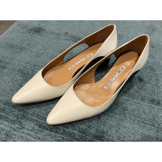 PELLICO(ペリーコ)のペリーコ ルネッタ 白 37 レディースの靴/シューズ(ハイヒール/パンプス)の商品写真