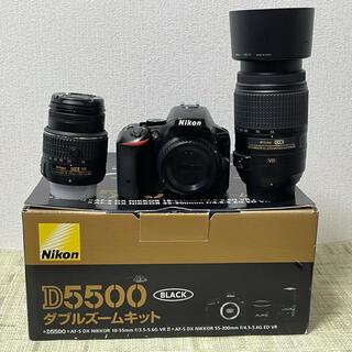 Nikon - NiKON ニコン D5500ダブルズームレンズキット Wi-Fi内蔵