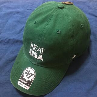 コモリ(COMOLI)のニート NEAT USA グリーン キャップ 帽子(キャップ)