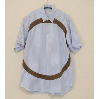 COMME des GARCONS HOMME PLUS - COMME des GARCONS SHIRT 半袖シャツ サークル ストライプ