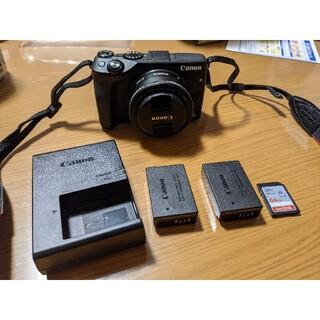 Canon - Canon eos m3 ミラーレス一眼 22mm 単焦点レンズ SDカード付き