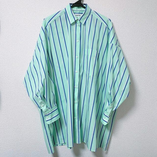 ENFOLD(エンフォルド)のENFOLD(エンフォルド)新作/ストライプシャツ レディースのトップス(シャツ/ブラウス(長袖/七分))の商品写真