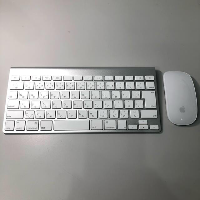 Apple(アップル)のiPad/Mac用 Apple純正 Mouse + Keyboard スマホ/家電/カメラのPC/タブレット(PC周辺機器)の商品写真