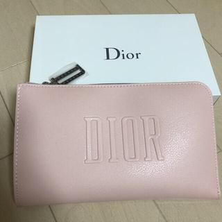 Dior - 未使用 アメリカsaks限定 ノベルティ コスメポーチ ピンク 合成革