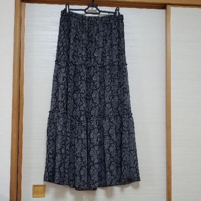 UNIQLO(ユニクロ)のUNIQLO ロングスカート Mサイズ レディースのスカート(ロングスカート)の商品写真