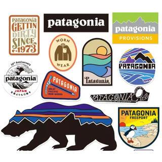 patagonia - パタゴニア アウトドア キャンプ防水ステッカー11枚セット